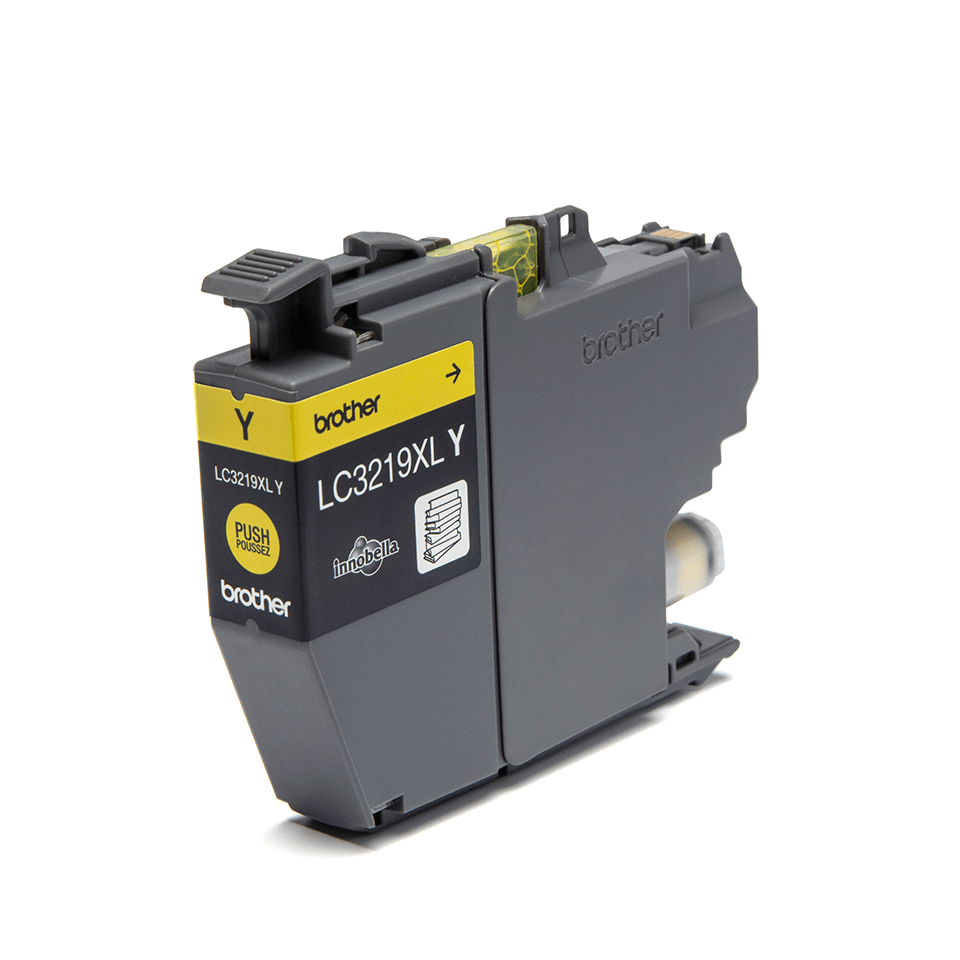 Genuine Brother LC3219XLY Ink Cartridge in yellow 2