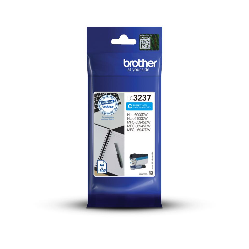 Genuine Brother LC3237C Ink Cartridge – Cyan 3