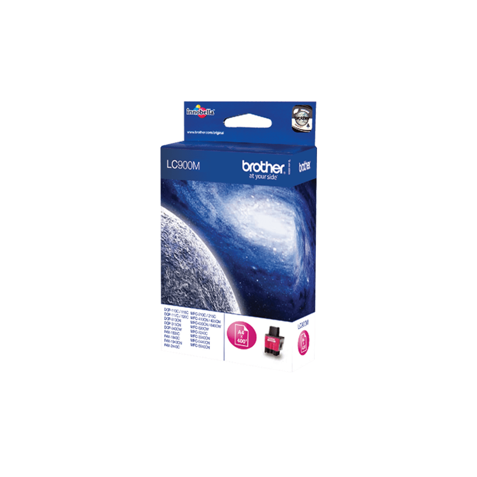 Genuine Brother LC900M Ink Cartridge – Magenta 2