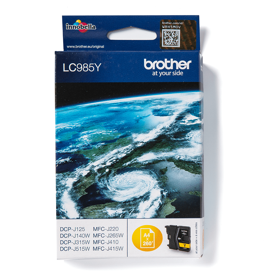 Genuine Brother LC985Y Ink Cartridge – Yellow