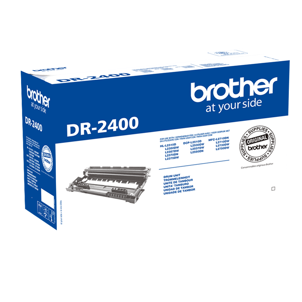 Genuine Brother DR-2400 Replacement Drum Unit 1