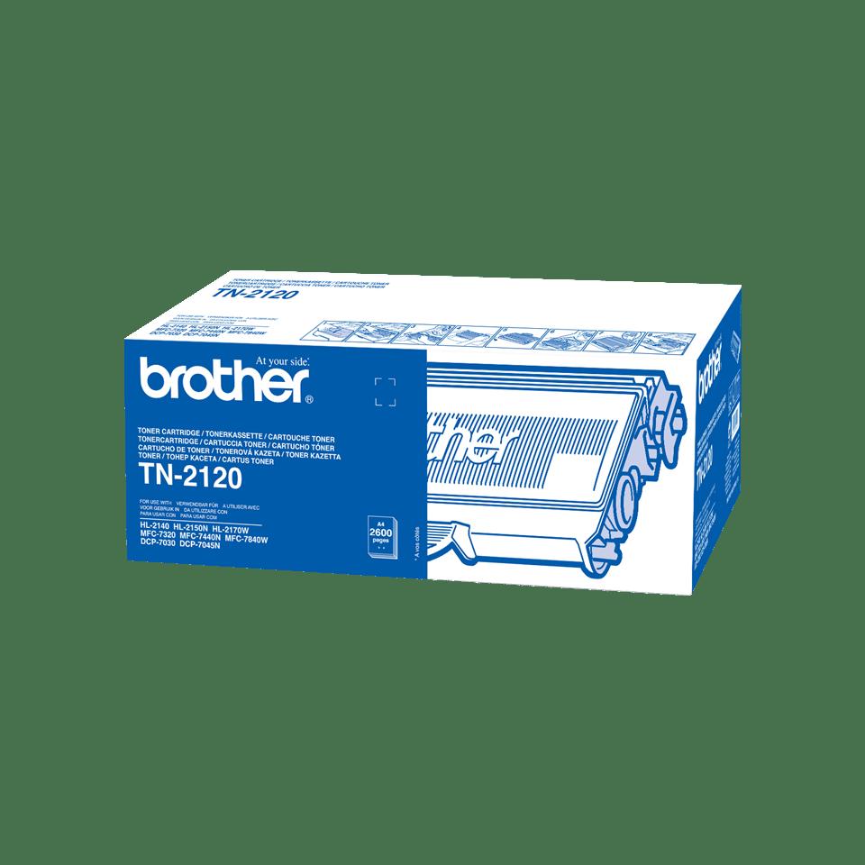 Genuine Brother TN2120 High Yield Toner Cartridge – Black 0