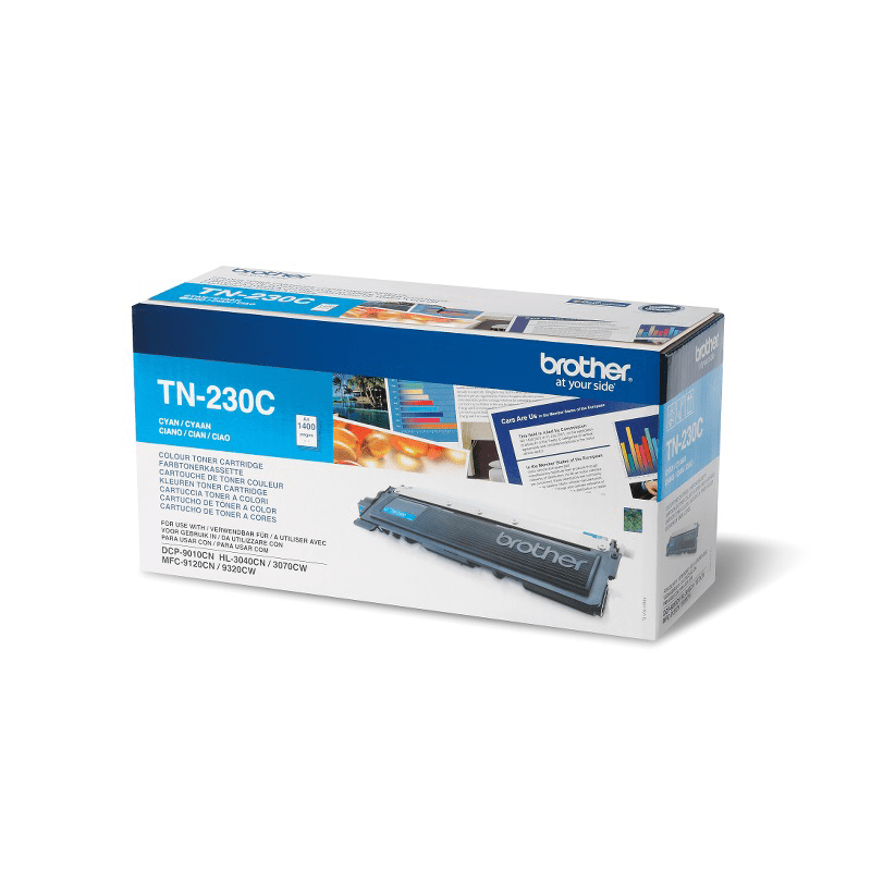 Genuine Brother TN230C Toner Cartridge – Cyan 0