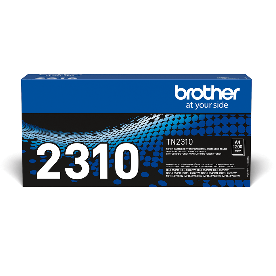 Genuine Brother TN2310 Toner Cartridge – Black  0