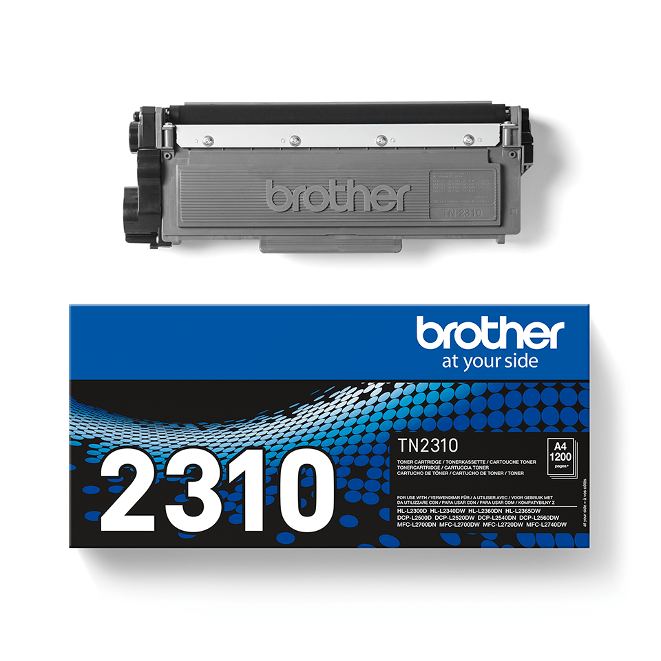 Genuine Brother TN2310 Toner Cartridge – Black  1
