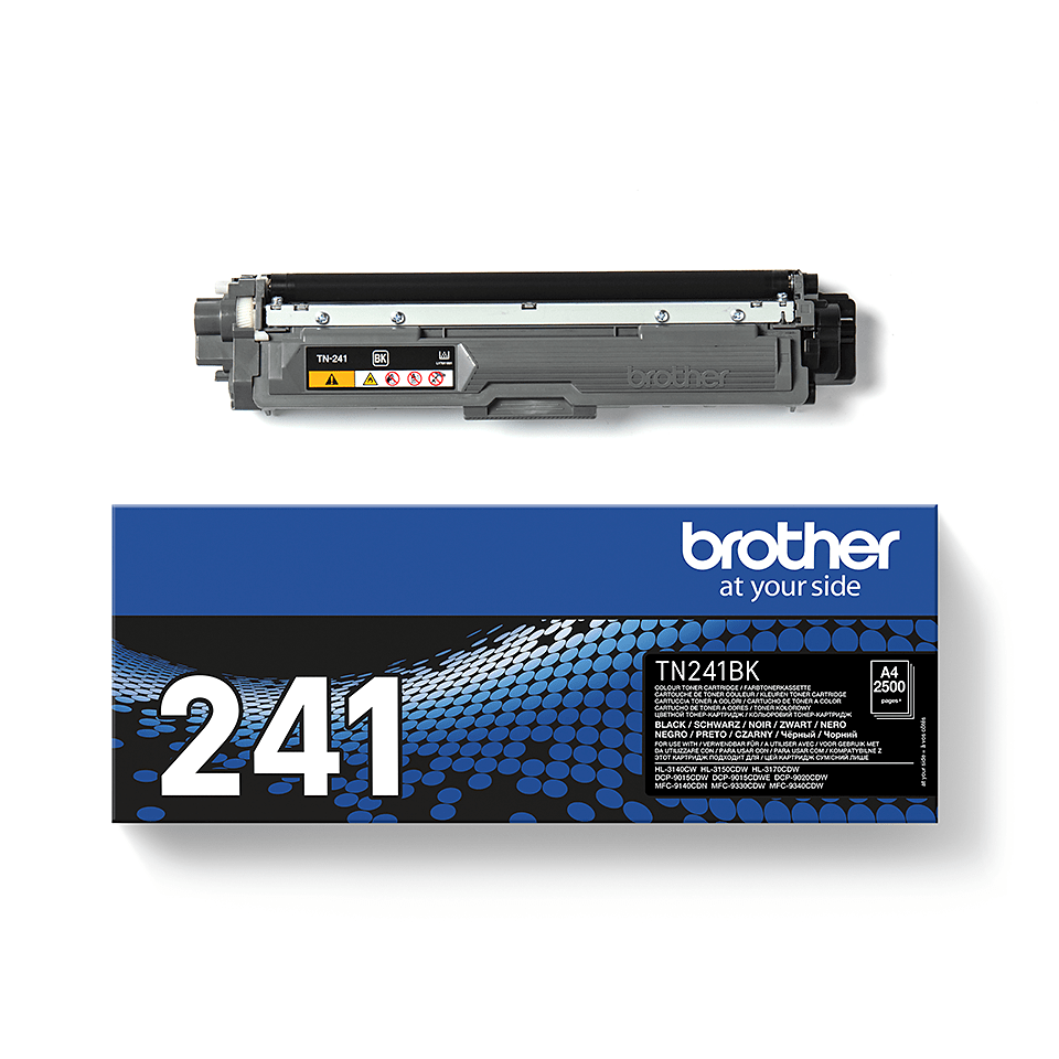 Genuine Brother TN241BK Toner Cartridge – Black 1