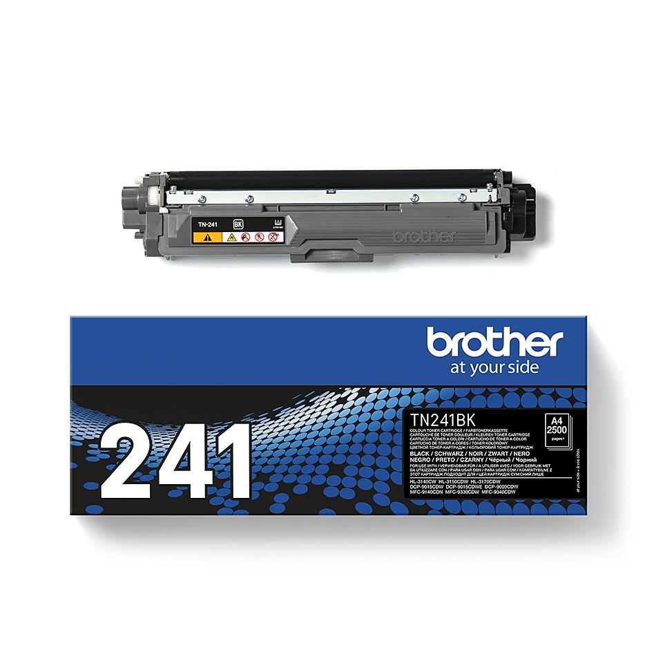 Genuine Brother TN241BK Toner Cartridge – Black 3