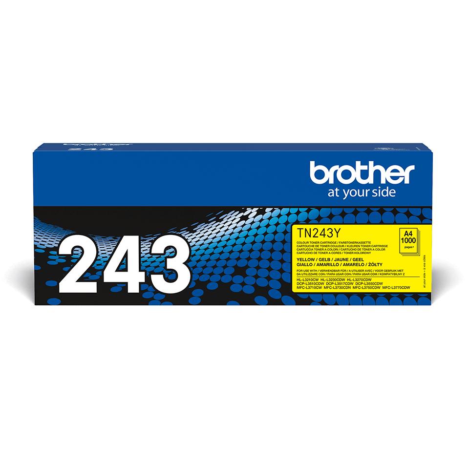 Genuine Brother TN-243Y Toner Cartridge - Yellow