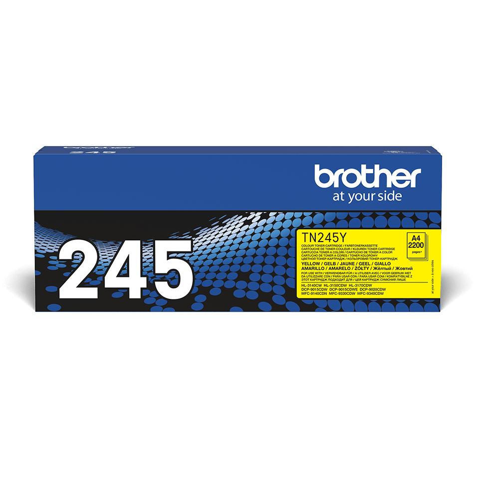 Genuine Brother TN-245Y Toner Cartridge – Yellow