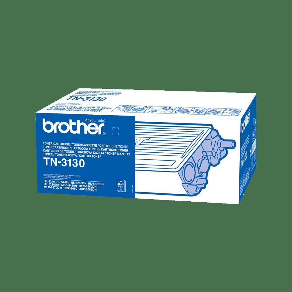 Genuine Brother TN-3130 High Yield Toner Cartridge – Black 2