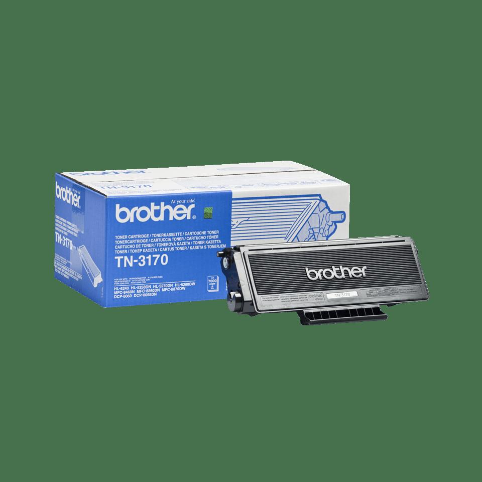 Genuine Brother TN-3170 High Yield Toner Cartridge – Black