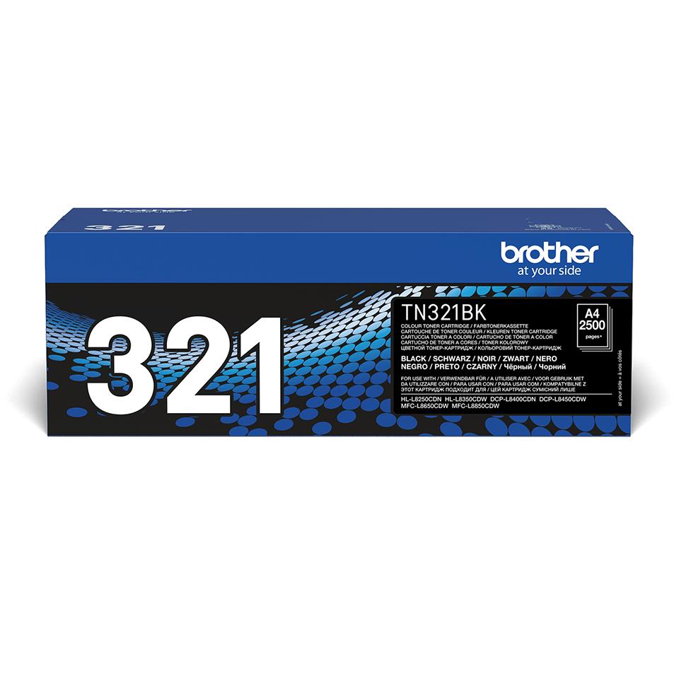 Genuine Brother TN-321BK Toner Cartridge – Black