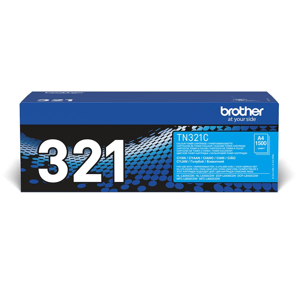 Genuine Brother TN-321C Toner Cartridge – Cyan