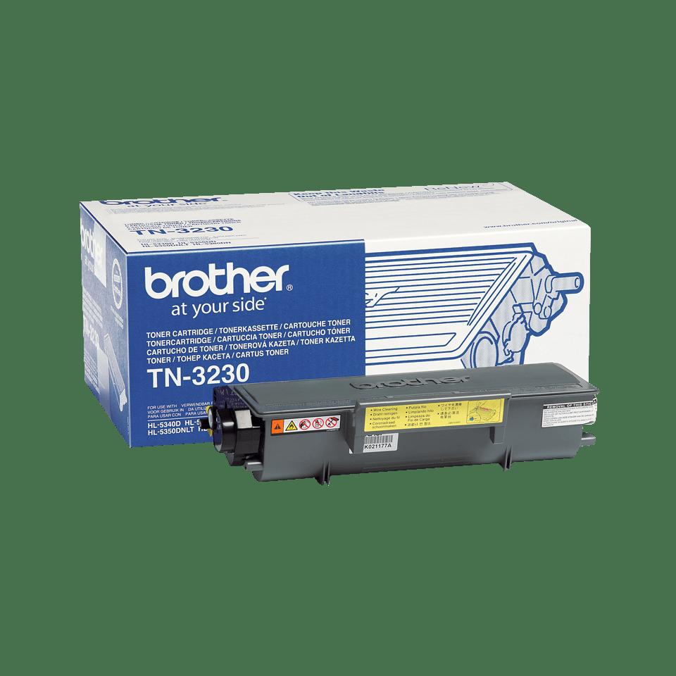 Genuine Brother TN3230 Toner Cartridge – Black