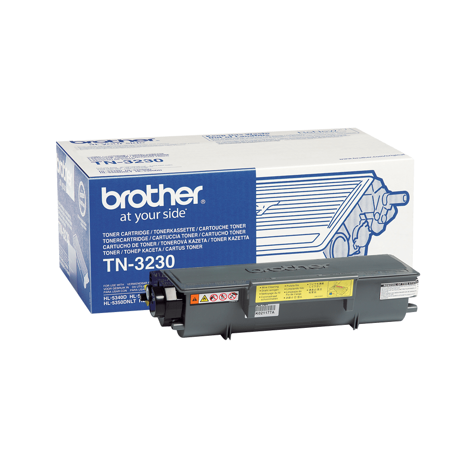 Genuine Brother TN3230 Toner Cartridge – Black