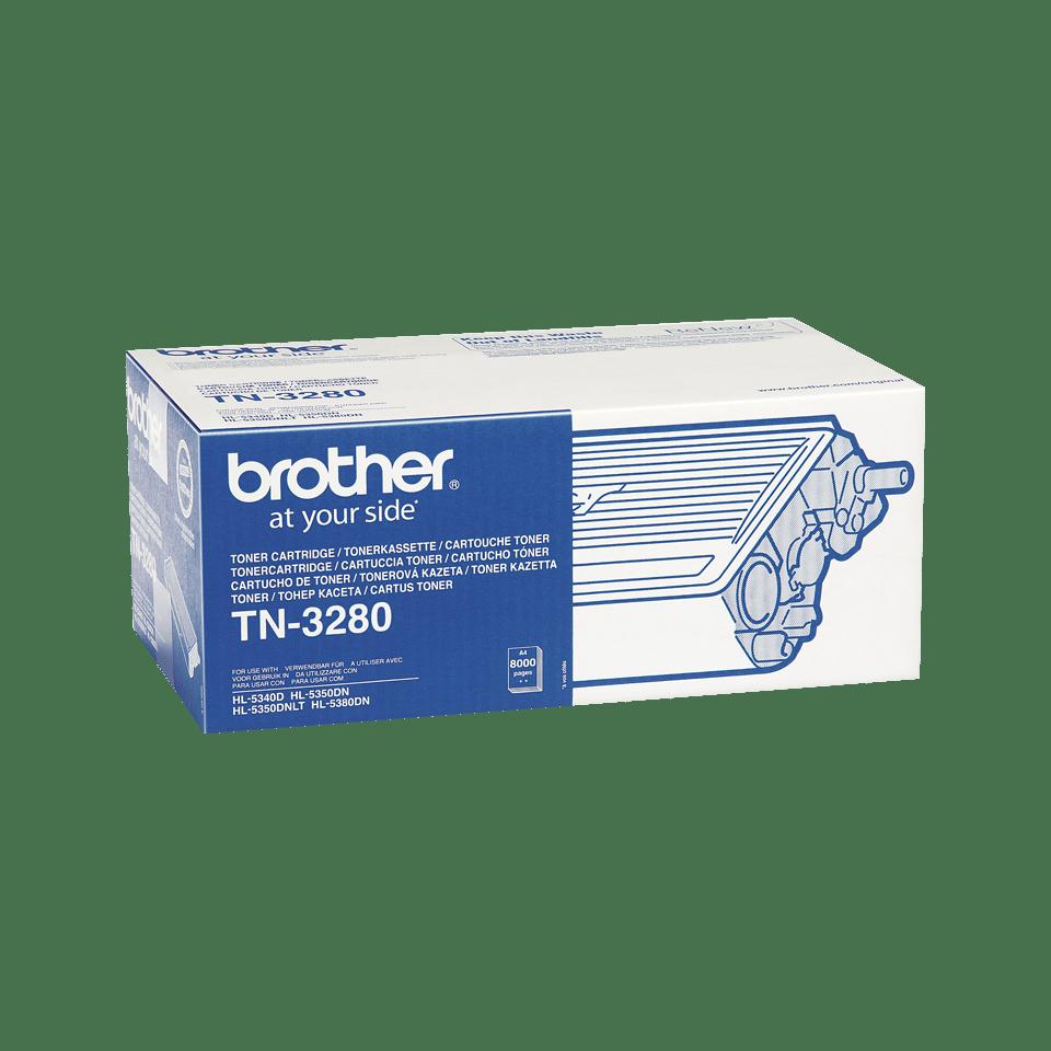Genuine Brother TN3280 High Yield Toner Cartridge – Black 2