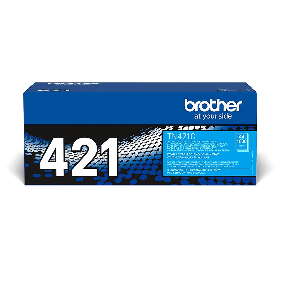 Brother TN-421C Toner Cartridge - Cyan 2