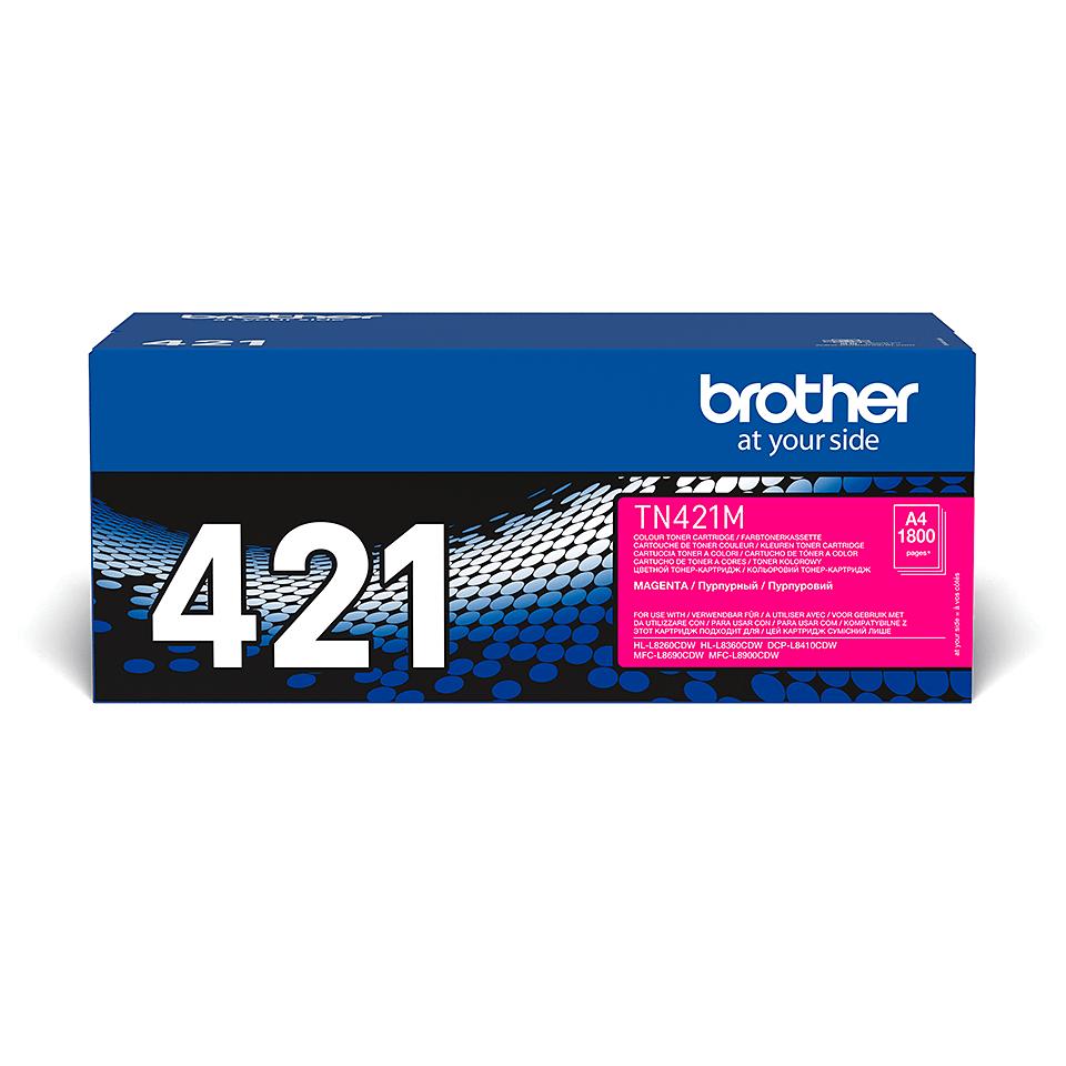 Brother TN-421M Toner Cartridge - Magenta 2