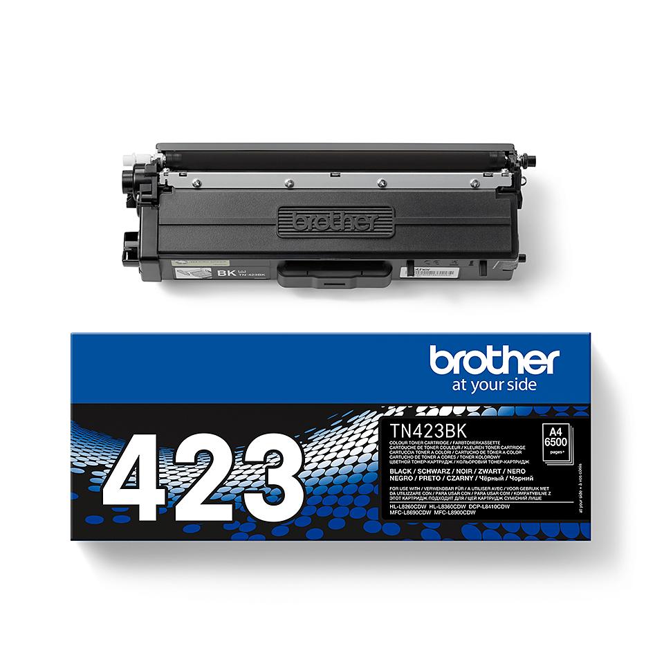 Brother TN-423BK Toner Cartridge - Black 2