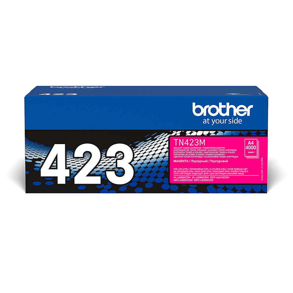 Brother TN-423M Toner Cartridge - Magenta