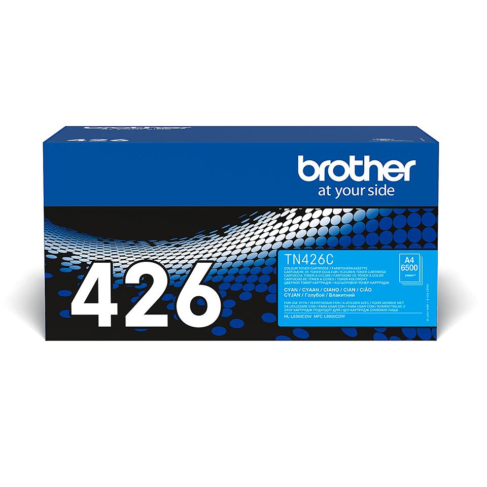 Brother TN-426C Toner Cartridge - Cyan 2