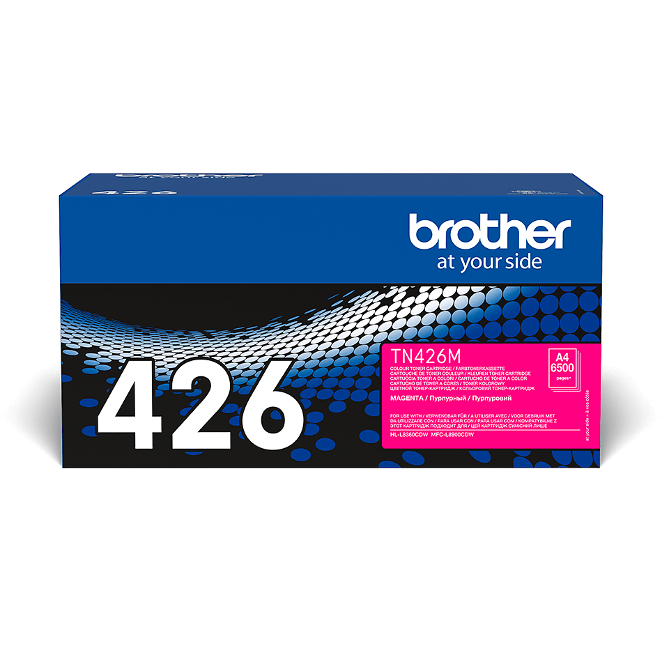 Brother TN-426M Toner Cartridge - Magenta 2