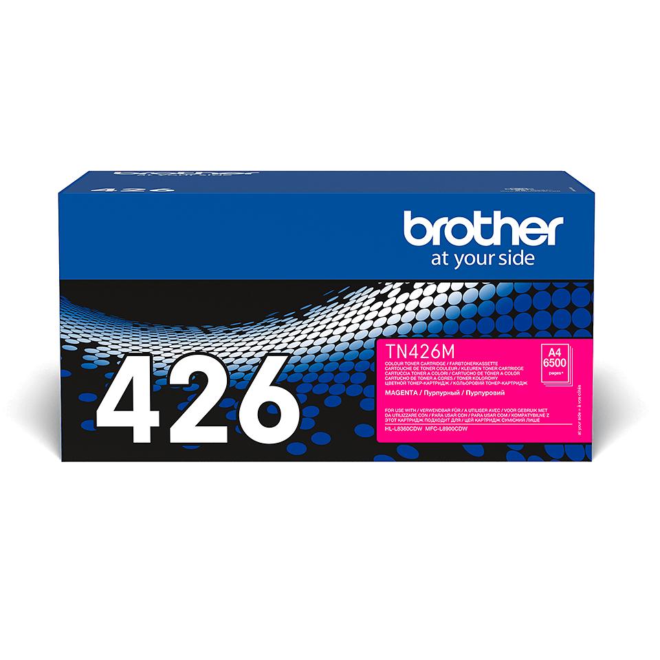 Brother TN-426M Toner Cartridge - Magenta 2