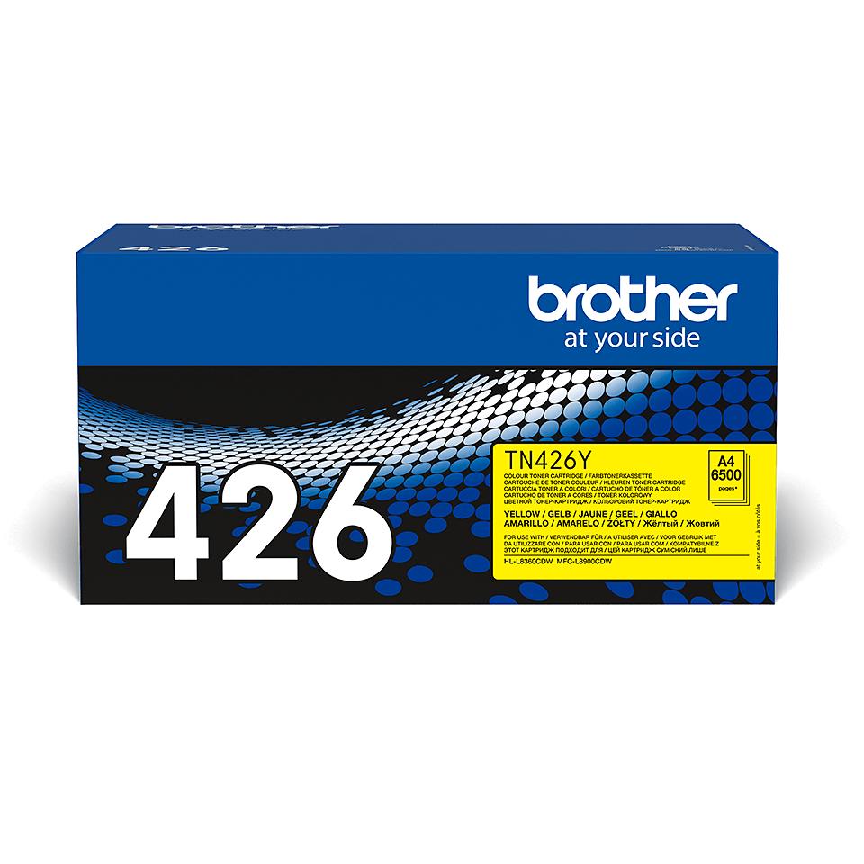 Brother TN-426Y Toner Cartridge - Yellow