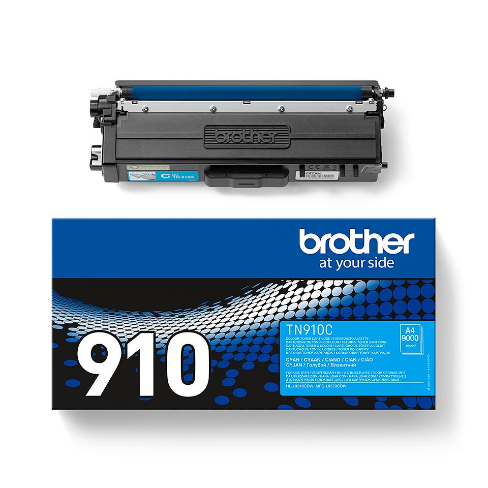 Brother TN-910C Toner Cartridge - Cyan 2