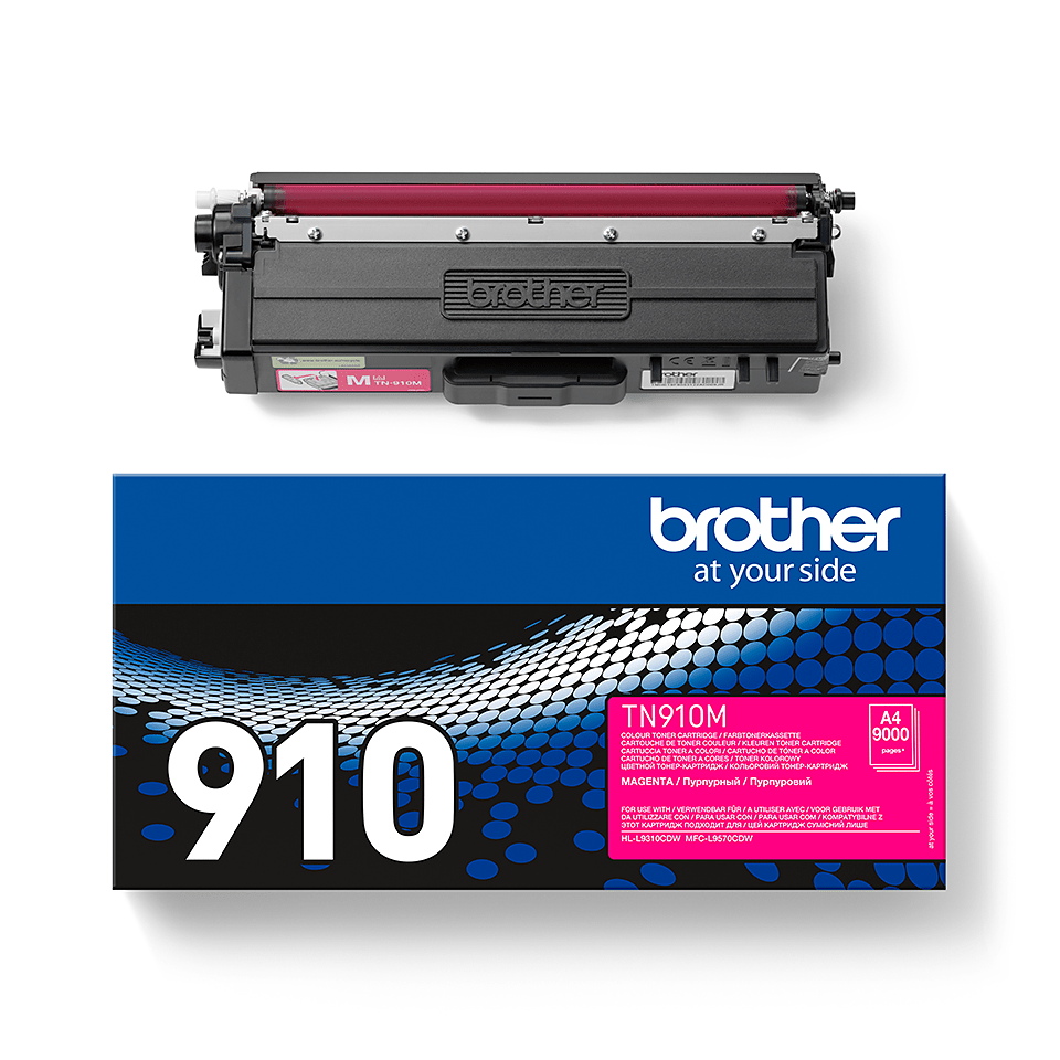 Brother TN-910M Toner Cartridge - Magenta 2