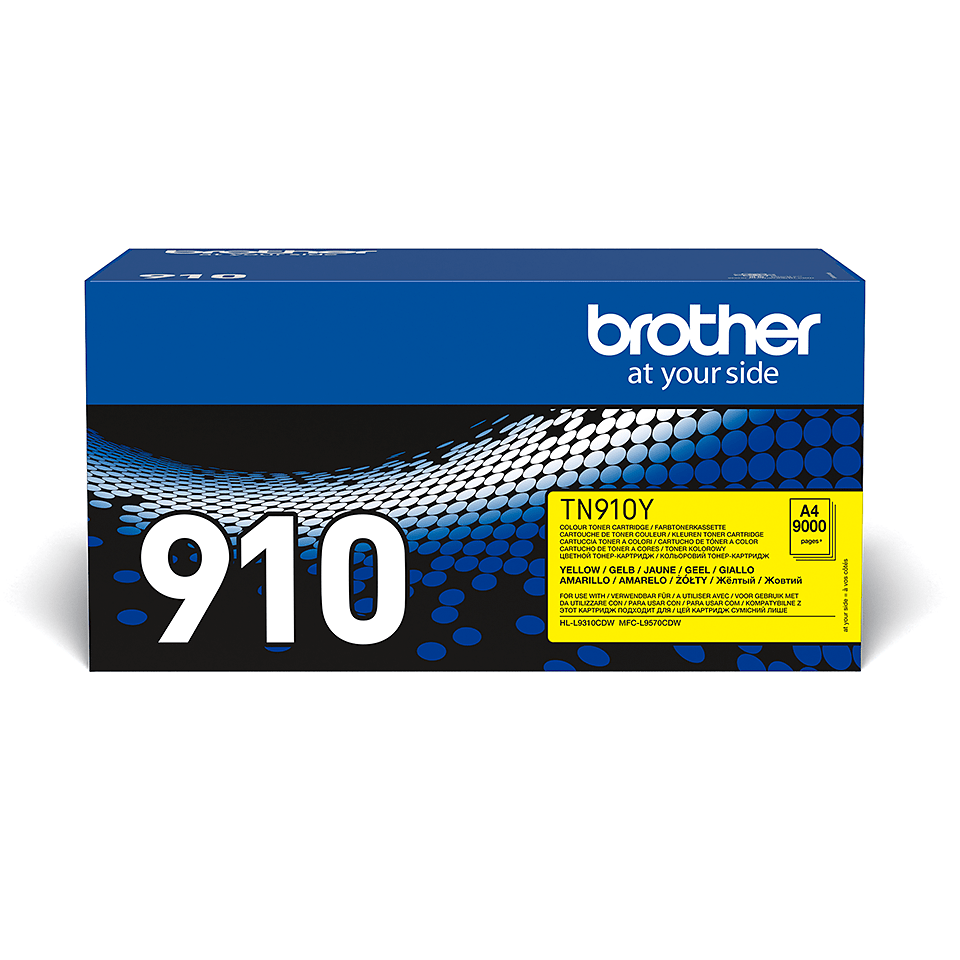 Brother TN-910Y Toner Cartridge - Yellow 0
