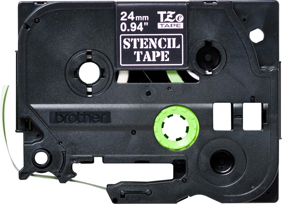 Genuine Brother STe-151 Stencil Tape Cassette – Black, 24mm wide 0