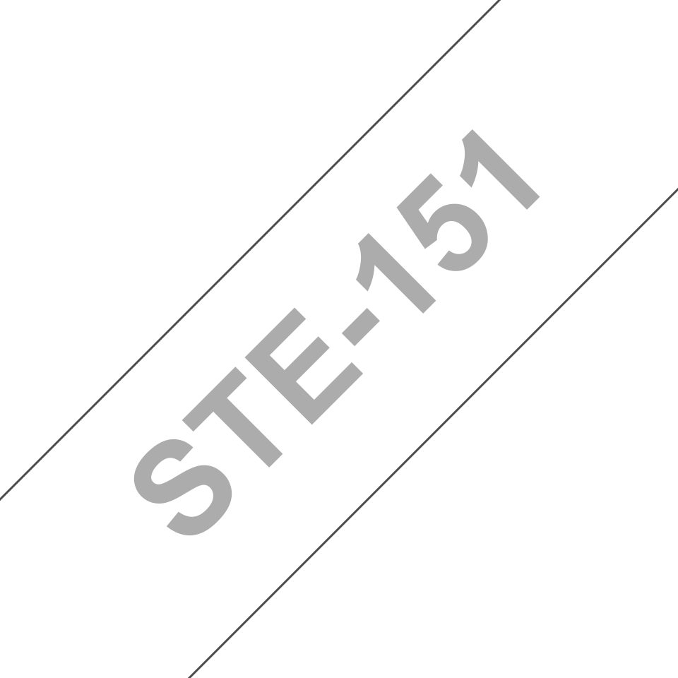Genuine Brother STe-151 Stencil Tape Cassette – Black, 24mm wide 2