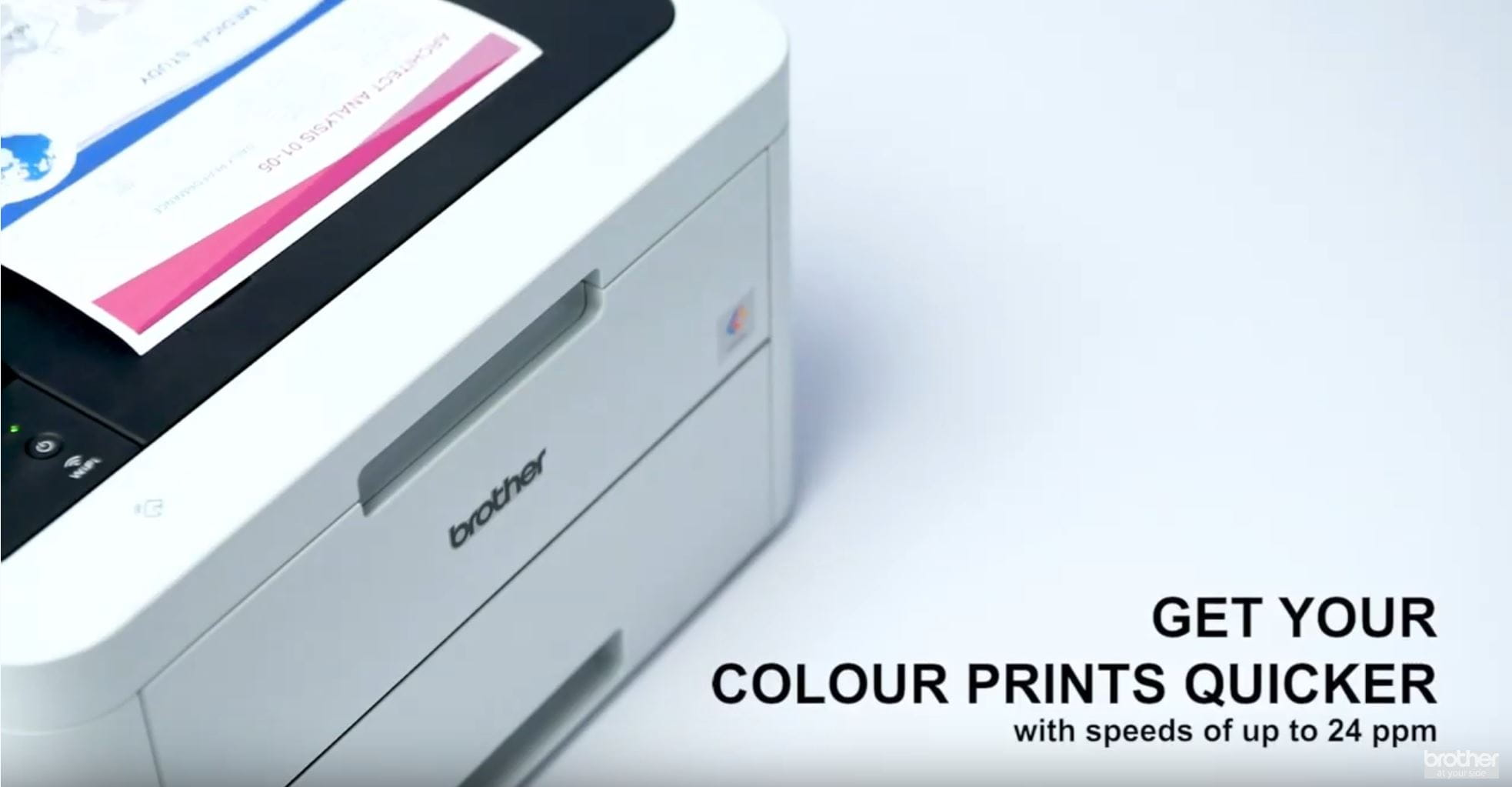 DCP-L3550CDW Colour Wireless LED 3-in-1 Printer  6