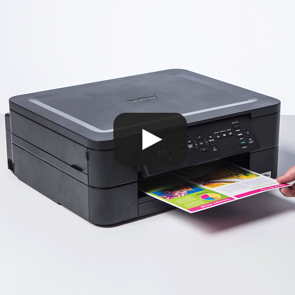 Wireless 3-in-1 Colour Inkjet Printer DCP-J572DW 8