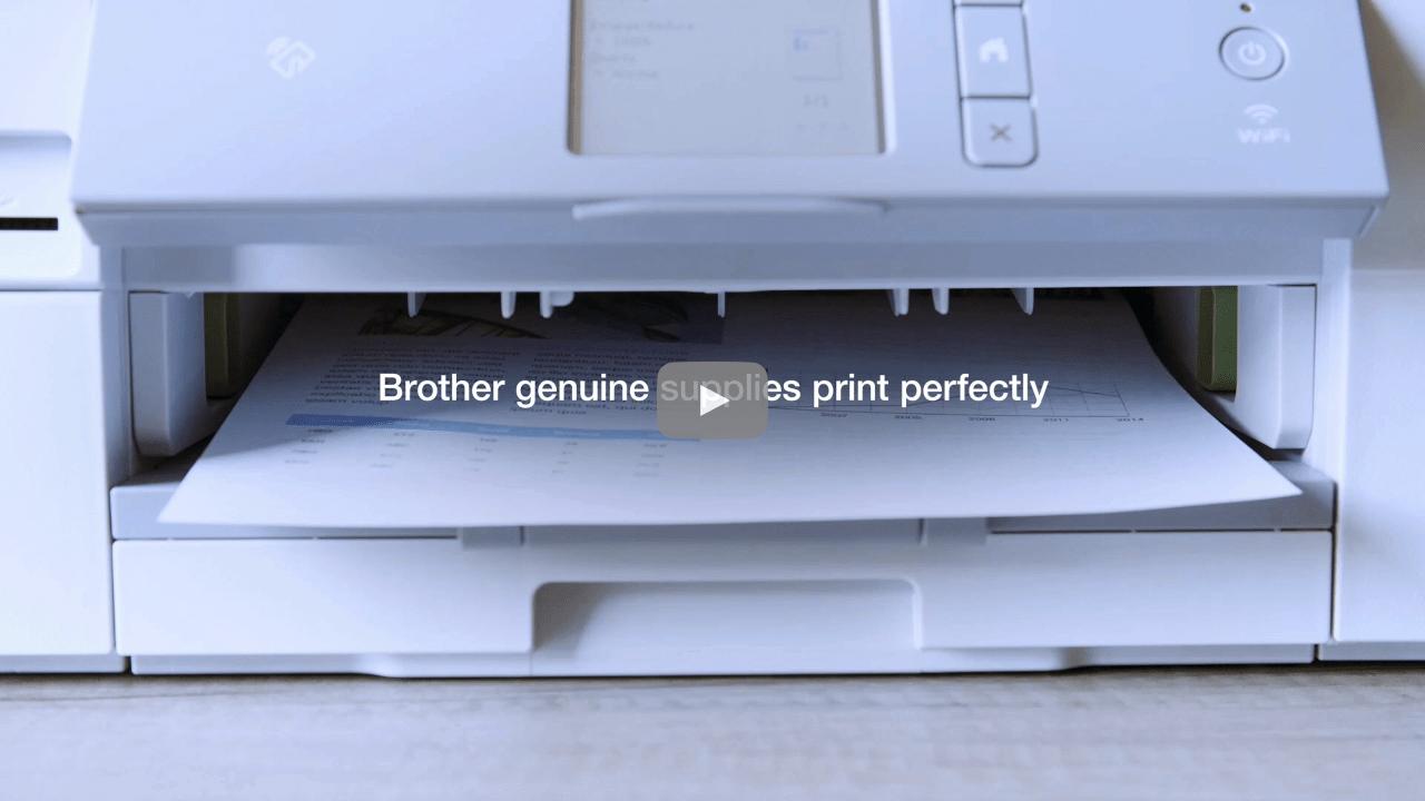 Genuine Brother LC985VALBP Ink Cartridge Multipack 3