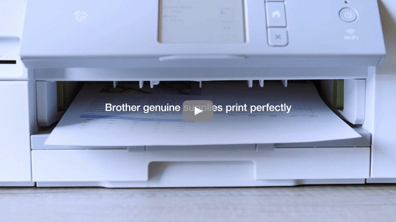 Genuine Brother LC1000C Ink Cartridge – Cyan 3