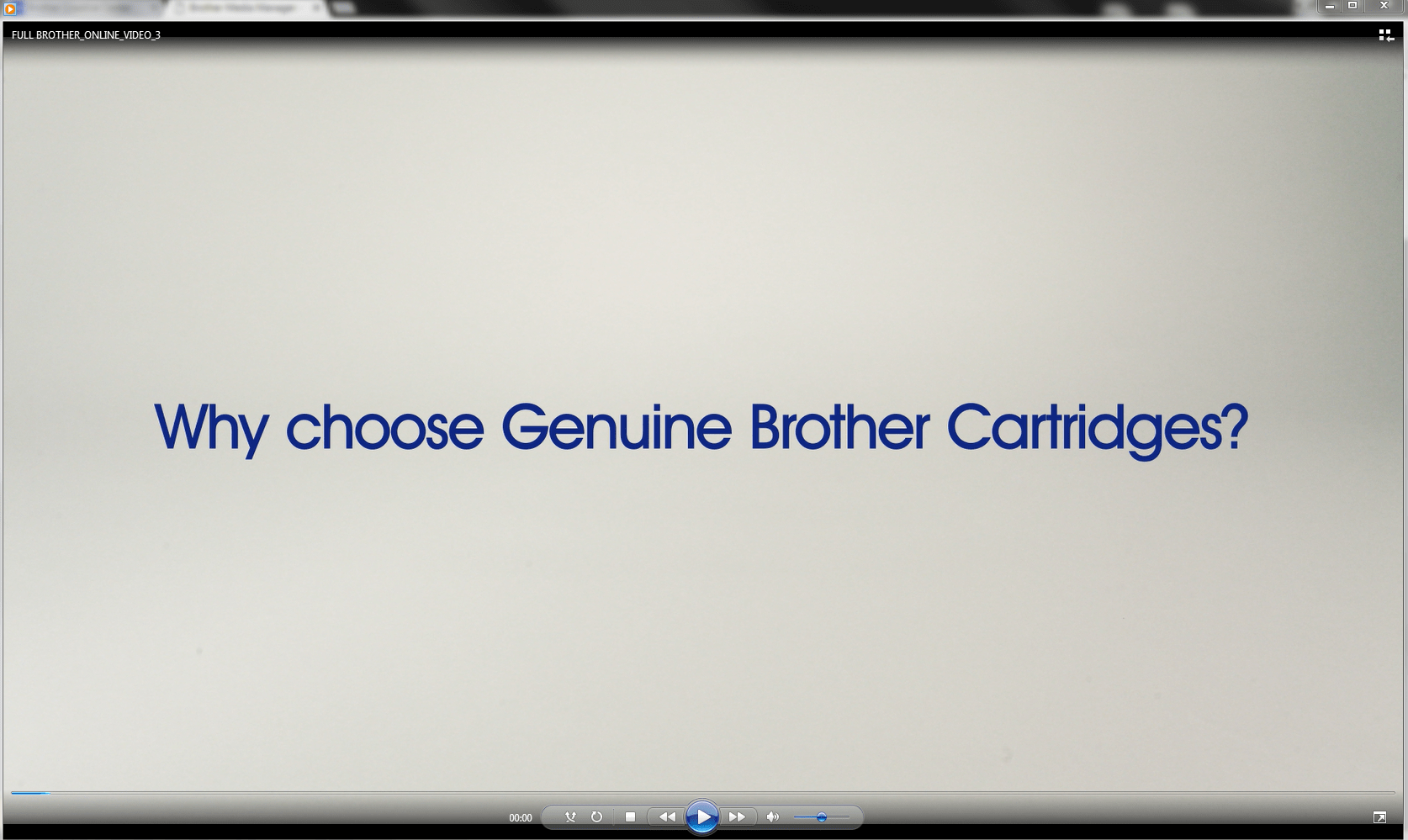 Genuine Brother LC1000C Ink Cartridge – Cyan 3